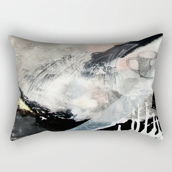 Saponification Abstraction Rectangular Pillow
