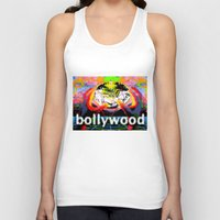 cyberpunk Tank Tops featuring Bollywood Cyberpunk by BOLLYWOOD