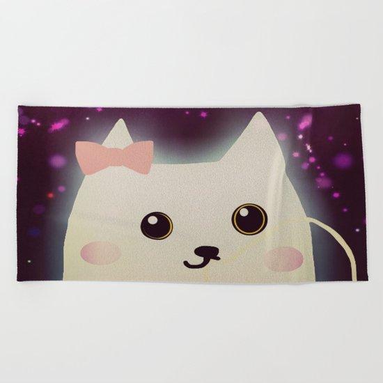 cat-229 Beach Towel