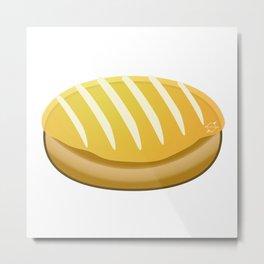 Totally Baked - Lemon Filled Metal Print