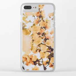 Spring Flowers VII Clear iPhone Case