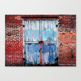 tattered 2 Canvas Print