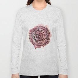 english pen rose Long Sleeve T-shirt