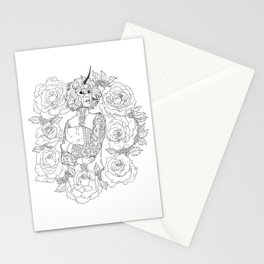 Thorns and Roses Stationery Cards