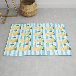 Lots of Lemons Pattern Rug