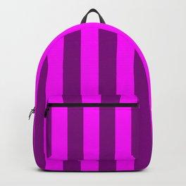 stripes purple pattern Backpack