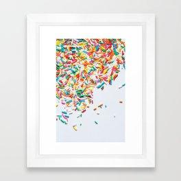 Sprinkles Party II Framed Art Print