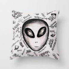 Ufology 101 Throw Pillow