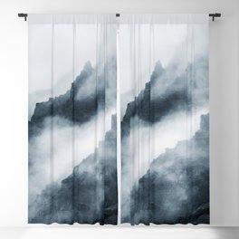 Foggy Mountains Blackout Curtain