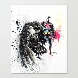 WORLD'S FINEST  Canvas Print