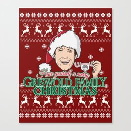 Have yourself a merry Griswold Family christmas Canvas Print