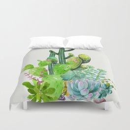 Cactus Garden II Duvet Cover
