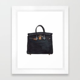 Birkin Framed Art Print