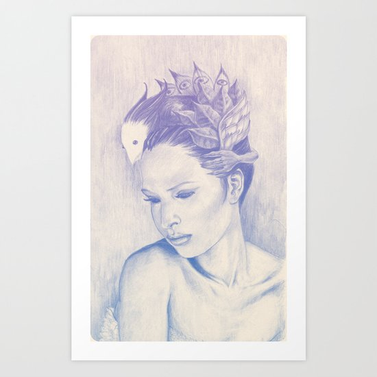 Head Candy Art Print