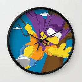 The Bartman Wall Clock