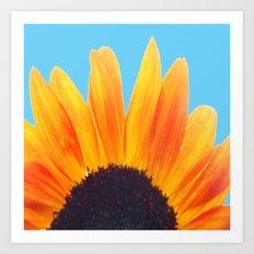My Love Is A Flower Art Print