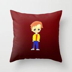 MiniAlbert Throw Pillow