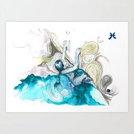 Poised Pisces Art Print