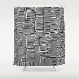 Industrial Strength Shower Curtain