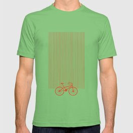 Red Bike by Friztin T-shirt