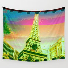 Las Vegas | Project L0̷SS   Wall Tapestry