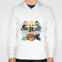 sasuke Hoodies featuring Team 7 On the Move by rendhy wahyu