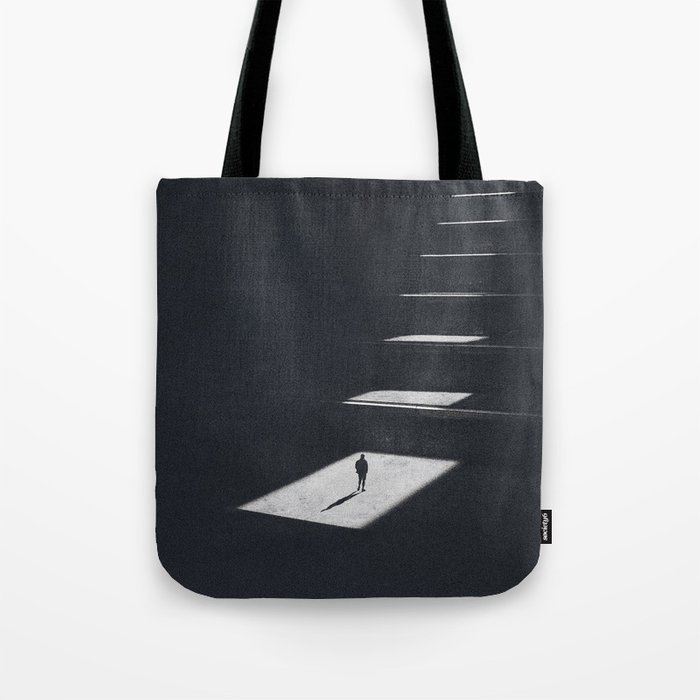 The only way is up Tote Bag