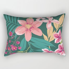 Blossom Pink Rectangular Pillow