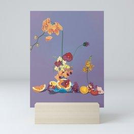 Still Life with Orchids Mini Art Print