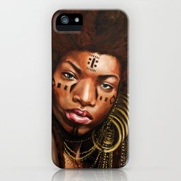 Wodaabe iPhone Case