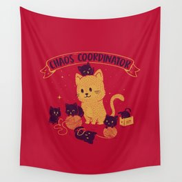 Chaos Coordinator Wall Tapestry