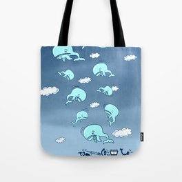 Where Have the Whales Gone? Tote Bag