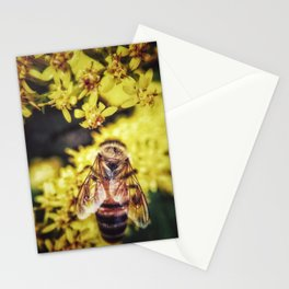 Bee Minus the Bird Stationery Cards