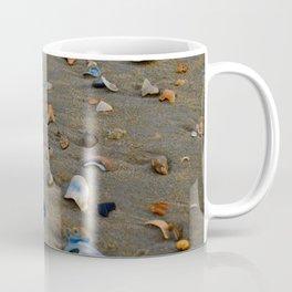 Shades of Shells on the Sand Coffee Mug