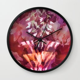 Lampshade Flowerpot Wall Clock