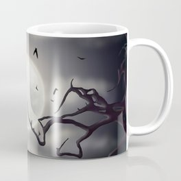Nighttime Moon Coffee Mug