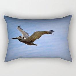 Seabird - Pelican Flight Rectangular Pillow