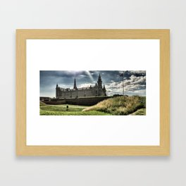 Hamlet Castle One, Helsingor, Denmark, July 2012 Framed Art Print