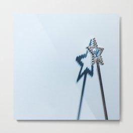 Magical Wand Metal Print