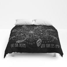 Dream mandala Comforters