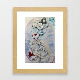 The Crimson Messenger Framed Art Print