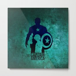 captain Metal Print