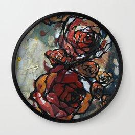 Roses 4423 Wall Clock