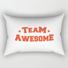 Team Awesome Rectangular Pillow