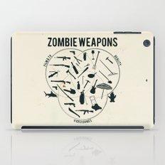 Zombie weapons iPad Case