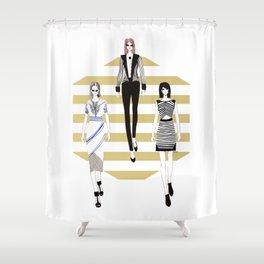 Fashionary 11 Shower Curtain