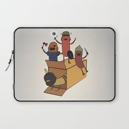 AT - Hog Dog Knights Laptop Sleeve