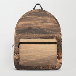 Golden Morning in Africa Backpack