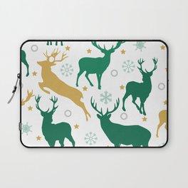 Christmas Deer Laptop Sleeve