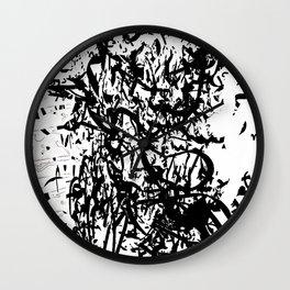 dredd glyph Wall Clock